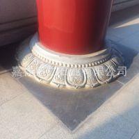 供应寺庙广场围柱石 园林建筑石柱墩柱础 仿古雕刻