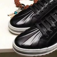 东莞艺立 圆头休闲皮鞋舒适优雅-黑色