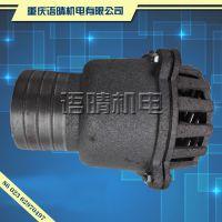 汽油发动机自吸水泵底阀/止回阀2寸 3寸 铁底阀 莲蓬头
