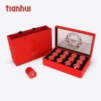 天汇包装皮盒长方320厚款回家的路茶礼盒岩茶红茶绿茶通用包装盒