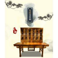 蜀臻金丝楠木书桌四川小叶桢楠画案明清古典中式办公桌