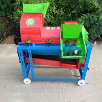厂家供应加厚款电动玉米脱粒机小型家用 高效率干净不烂芯玉米机