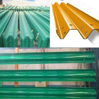 公路三波形梁钢护栏防阻块-广安波形梁钢护栏-君宏护栏厂家