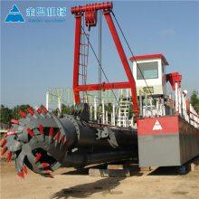 清淤绞吸船 郴州订做生产小型绞吸船的厂家