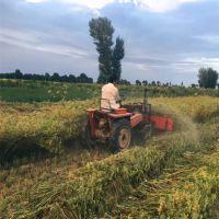 多功能园林牧草收割机 胡麻荞麦收割发片机