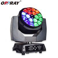 菲鹏声光ML-B0194 19颗15W四合一RGBW大蜂眼 LED调焦摇头染色灯