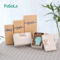 FaSoLa长方形糖盒文艺清新生日礼物盒回礼伴手礼盒定制