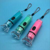 大号水晶电筒 便携式旅行电筒LED光源 可更换电子2元店货源小礼品