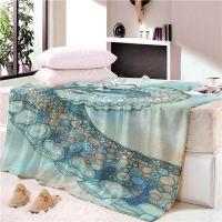 专业定做毛巾被毯 床垫毯 儿童毯 午睡毯 保暖舒适 跨境电商供应