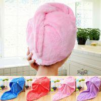浴帽 超细纤维加大加厚干发帽 超强吸水 速干帽 干发巾 洗发裹头