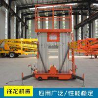 厂家直销铝合金式双桅升降平台