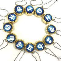 十二星座陀螺怀表陀表射手座挂表学生旋转翻盖项链手表饰品礼物