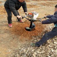 齐齐哈尔汽油冰钻机 硬土质效果好挖坑机 50直径拖拉机带挖坑机