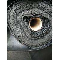 库存黑色PU皮革人造革合成革箱包厂处理皮革黑色皮革