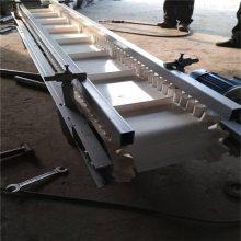 两侧带挡边输送机价格不锈钢防腐 机场行李装卸车输送机