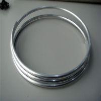 6061空心铝棒 6063氧化铝合金圆管 精拉无缝铝合金管