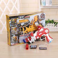 新款卡通变形水弹枪水晶弹玩具枪儿童射击子水弹手枪军事模型直销