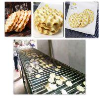 母婴食品石头饼生产设备 石子馍加工机械 全自动石子饼流水线