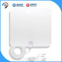 直销DVB-T2 ATSC dtmb透明薄膜电视天线 HDTV天线厂家专业有保障