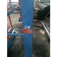 浙江管材货架交付使用 伸缩式吊车存放