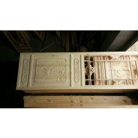 新中式镂空木雕门窗_家庭环保实木木质门窗_腾祥古建