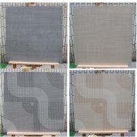 600x600MM地毯砖灰色米黄色仿地毯瓷砖 卧室 客厅背景墙墙砖