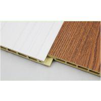 新型环保吊顶墙面材料 竹木纤维集成墙板 30公分快装墙板