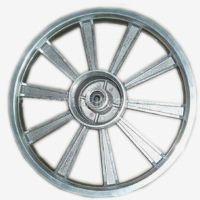 压铸铝合金汽车轮毂 摩托车机动车五金配件压铸加工厂家