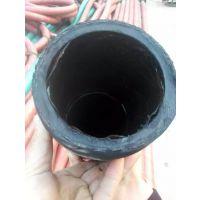 水泥罐车胶管_天然橡胶钰程牌7米散装水泥罐车耐磨打灰卸料胶管