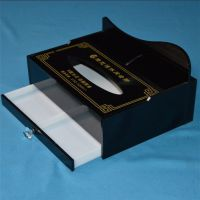 亚克力纸巾盒 多用纸巾盒 有机玻璃抽纸盒 多功能纸巾盒定制