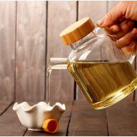 日本无铅玻璃厨房用品倒油壶创意家用大小号酱油醋麻油瓶防侧漏油