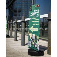 生产户外双面方向标识牌 路人通道注水指引牌 广告标语宣传警示牌