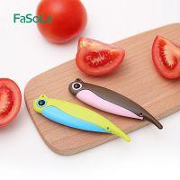 Fasola陶瓷刀水果刀切片刀氧化锆不生锈折叠瓜果刀随身可爱