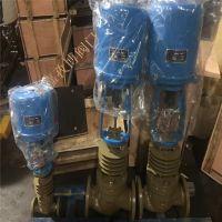 厂家直供 ZDLP-25C DN200 电子式电动调节阀 ZDLP-25P 法兰式铸钢调节阀