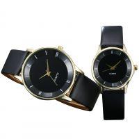 正品牌韩版时尚女士手表 男士皮带学生手表 情侣手表对表石英表