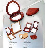 木制化妆镜 化妆盒 女人化妆镜 木质化妆镜 个性化女人化妆镜