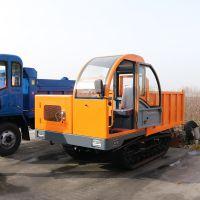 履带运输车履带能用多久 山地砂石自卸车多少钱