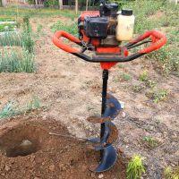 小型便携式立柱挖坑机 湖南果树施肥打孔机 圣鲁机械