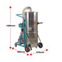 仓库地面灰尘保洁吸尘器220V上下桶工业吸尘器厂房100L吸尘吸水