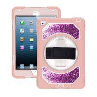 适用苹果ipad mini4 三防硅胶保护套 批发平板硅胶流沙防摔保护壳