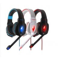 下单询价因卓G4000头戴式游戏耳机重低音发光电脑耳麦 麦克风批发