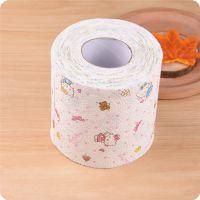 优质彩色印花卫生纸卷筒餐巾纸手纸家用卷纸面巾纸卷筒纸草纸