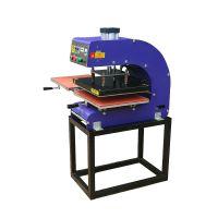 双工位烫画机下滑气动烫画机T恤热转印机高效率烫钻升华转印