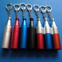 酒瓶式手机配件小红锁防盗挂钩锁彩色迷你解锁器开取锁器钥匙