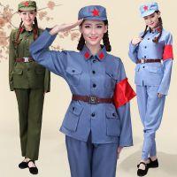 八一建军70年代绿军装八路军老红军80年代演出演摄影服装