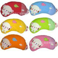 小号韩版荞麦壳儿童枕头 韩国荞麦枕头 婴儿定型枕头 半月猪枕头