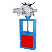 LC-I电动防腐耐磨焊接式碳钢插板阀