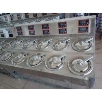 12炉头煲仔饭机器 做煲仔饭可定时设备 全智能数码煲仔炉