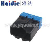 Haidie 6P带锁扣公端插头KUM汽车连接器PH772-06025