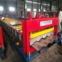 地鑫机械现货供应1180型4峰大波浪车厢板机 集装箱板压瓦机设备